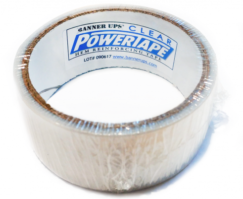 Clear PowerTape Sample Roll
