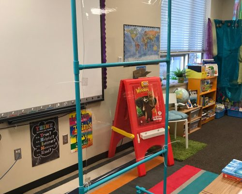 partition classroom
